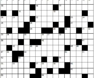 Amended Crossword 26 Grid